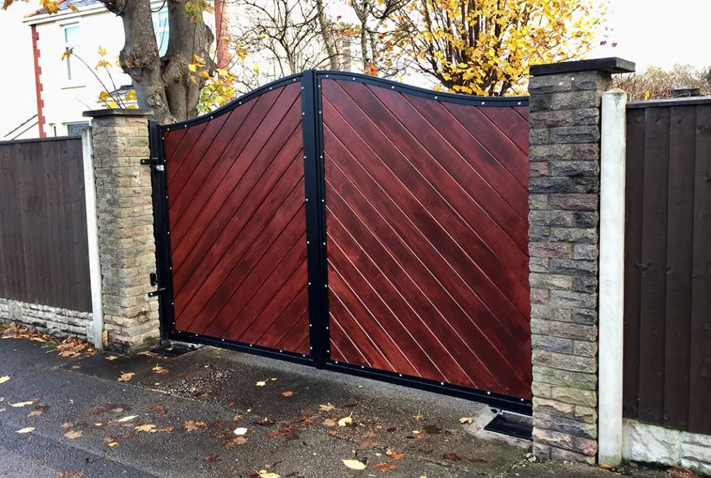 new gate installation